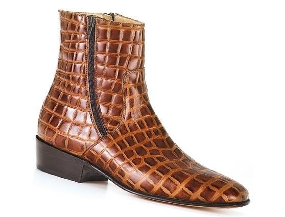 Lennon Brown Croc