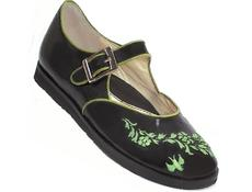 Anastassia Black with Green