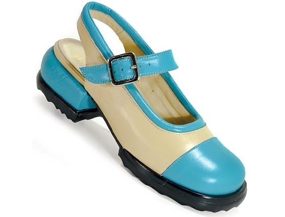 Emma Beige with Turquoise