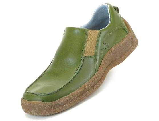 Victor Olive leather