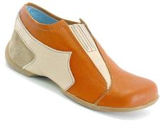 John Paul Orange with Beige & Taupe
