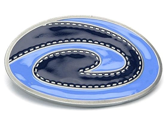 Swirl Belt Buckle