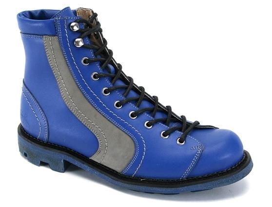 Racer Boot Blue on Original Angel Blue Sole