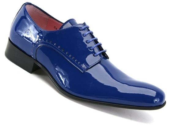 Luciano Blue Electric Patent