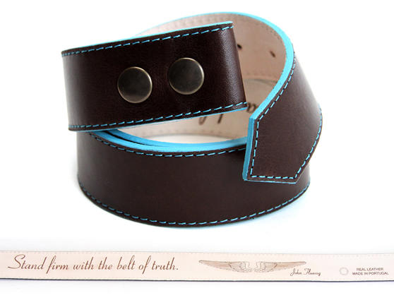 JF Leather Belt (no buckle)