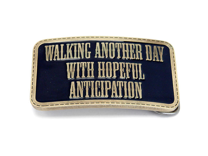 Walking Another Day Buckle