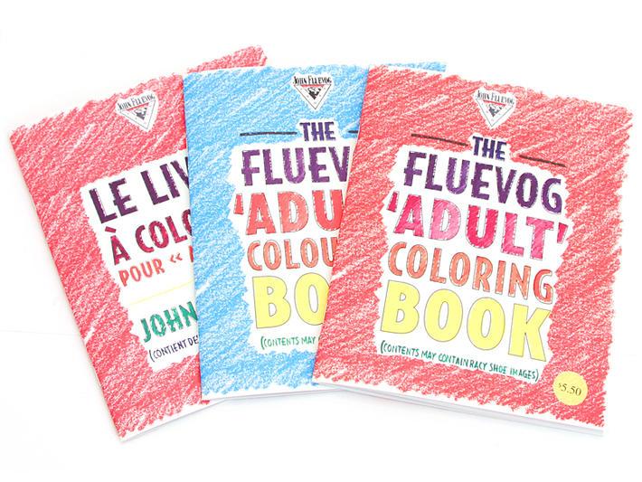 The John Fluevog 'Adult' Colouring Book