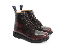 Derby Swirl (6 Eye) Burgundy Rub-off Classic Derby Boot