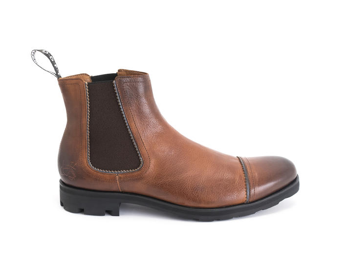 Nathan Brun Leather Chelsea Boot