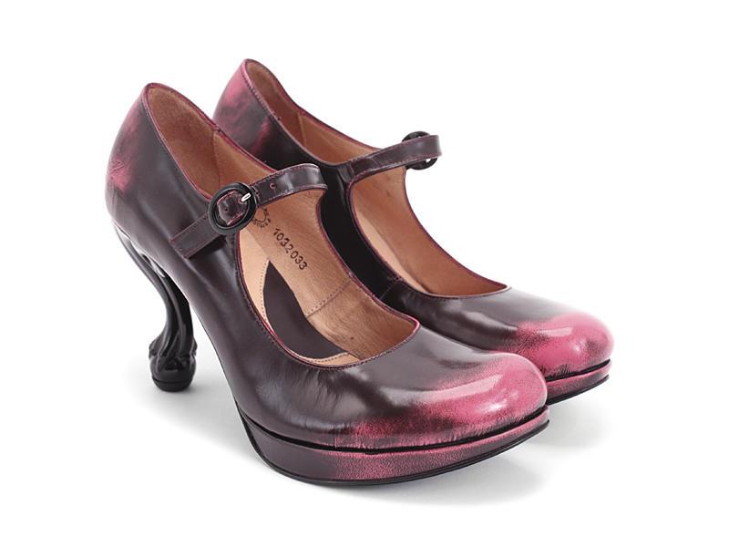 Fluevog Shoes | Shop | Elizabeth (Pink)