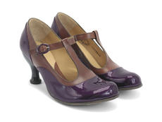 Burgundy & Brown