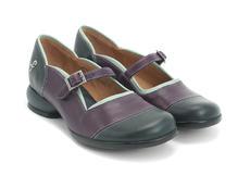 Bleu marine & violet