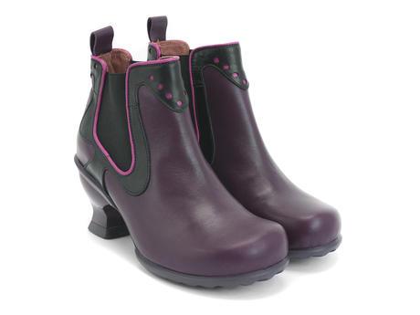 Purple & Black