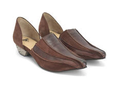 Jessica Brown Pointed Slip-On D'Orsay Shoe