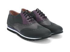 Black, Grey & Purple