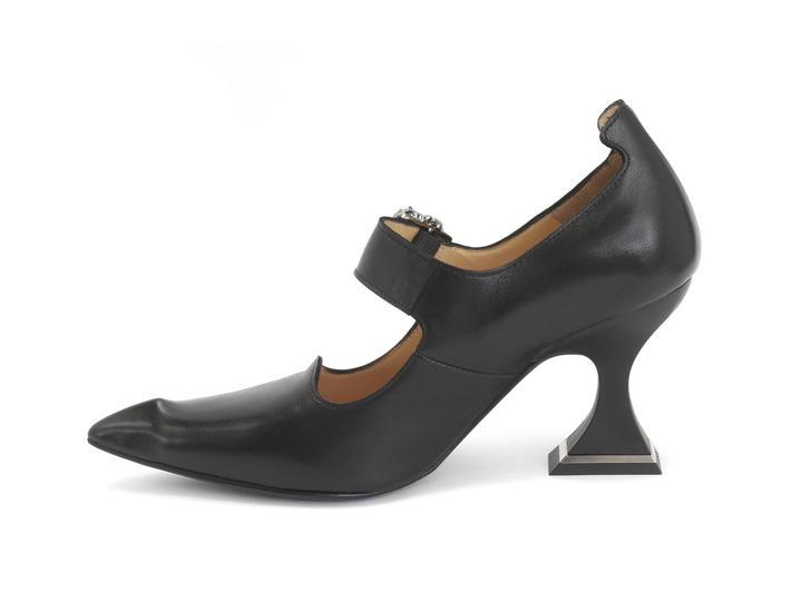 Odette - Black | Pointed Toe Mary Jane