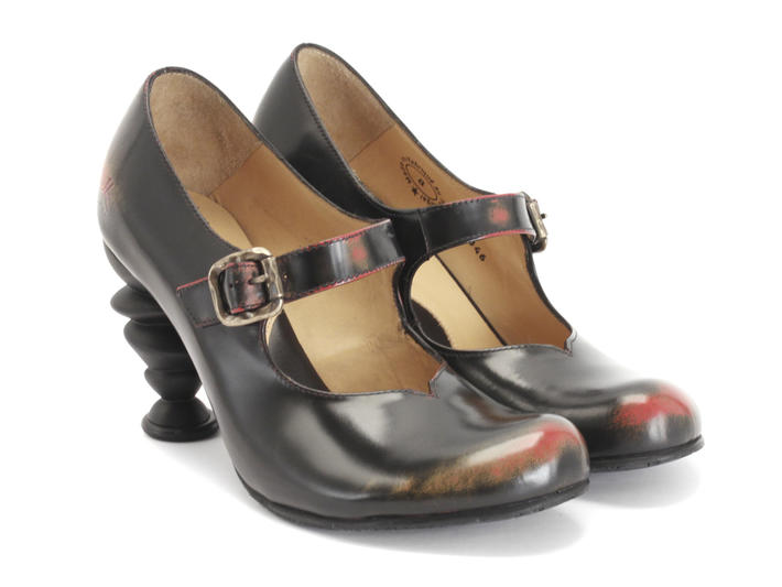 c5802cbb1 Fluevog Shoes | Shop | Moonstone (Brownish Orange) | Heeled Mary jane