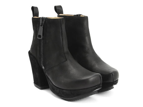 Black with black zipper