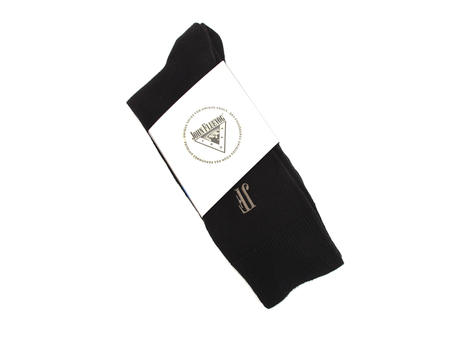 Argyle Vog Socks Black