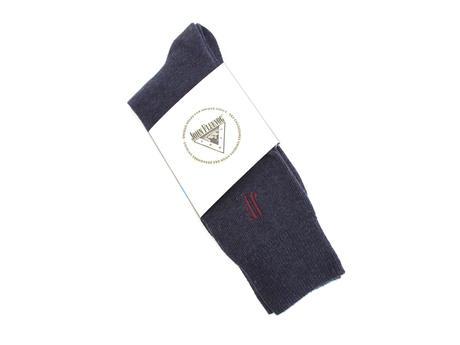 Argyle Vog Socks Navy
