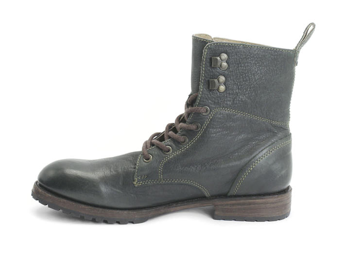 Blake Green Casual Lace-up Boot
