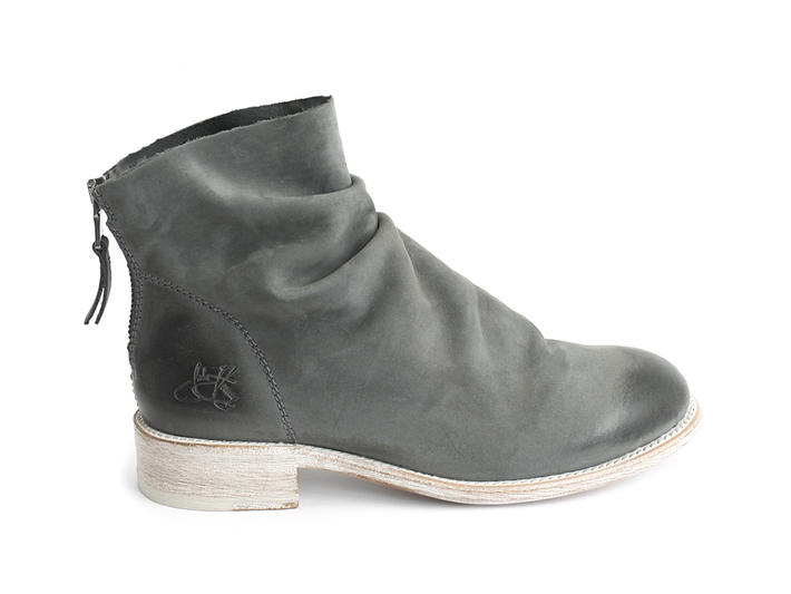Foster Grey Slouchy flat ankle boot