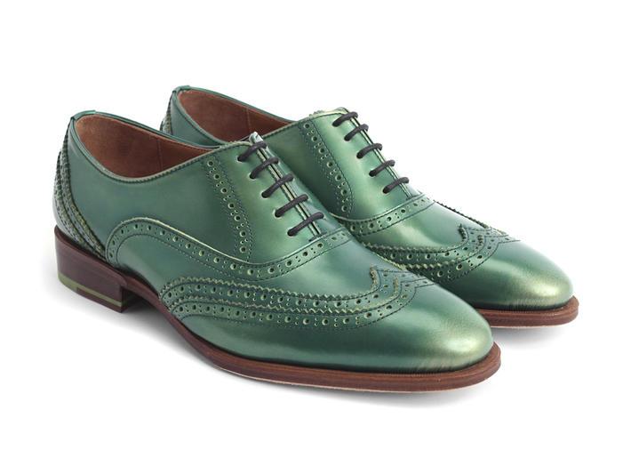 the best attitude 243b6 66d2a Fluevog Shoes  Shop  Toledo (Green)  Double wingtip oxford