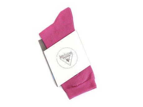 Speckled Vog Socks Pink & Teal