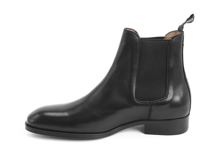 Mariana Black Flat chelsea boot