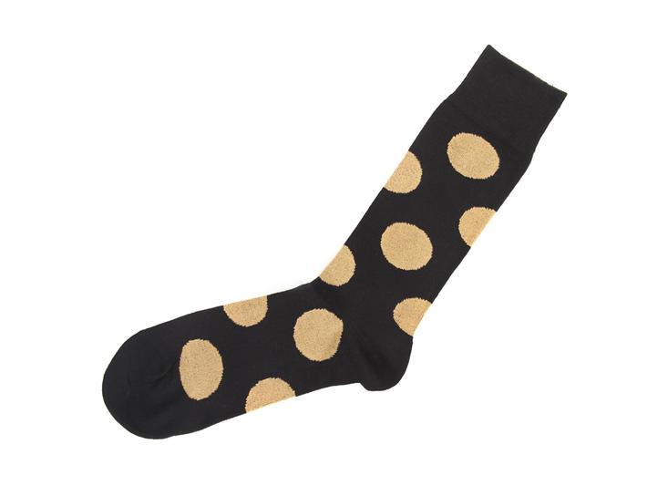 Pipo Vog Socks Black Polka dot sock