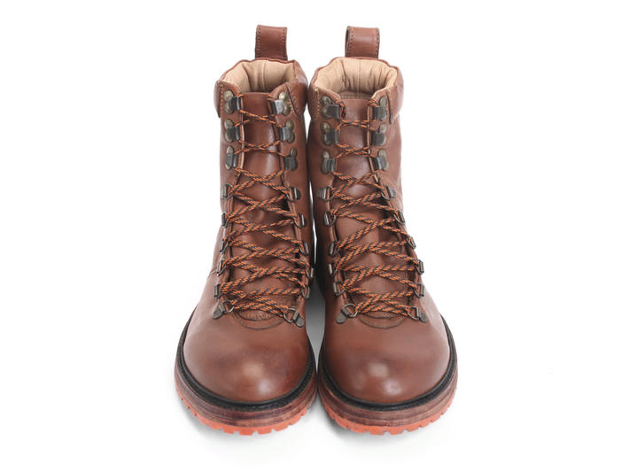 Montaigne Brown Lace-up hiking boots