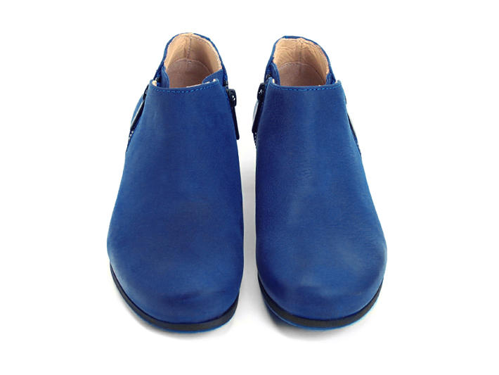 RFI Blue Low ankle boot