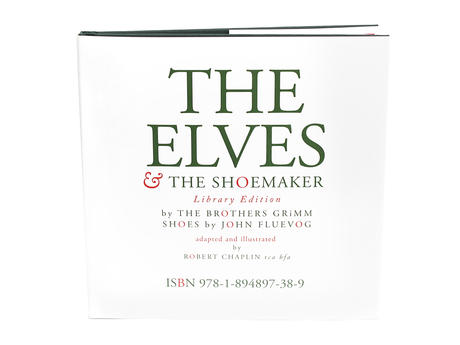 Livre The Elves Un conte Fluevog