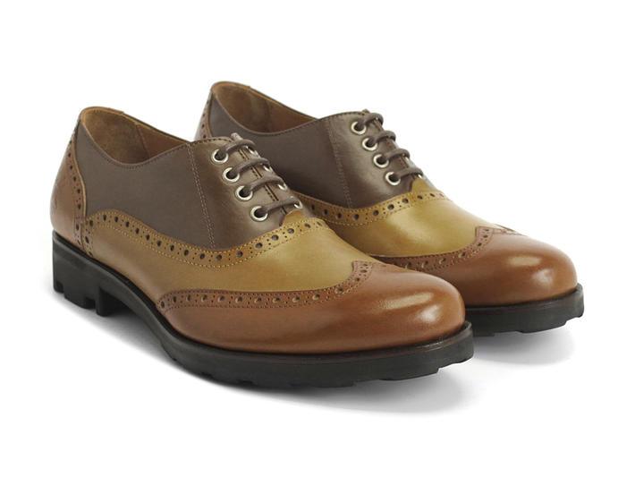 Brogue Andrew Fluevog Shop Shoes Wingtip Shoe amber wvxTFXT