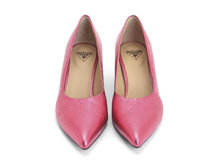 Bebe Pink Pump with block heel