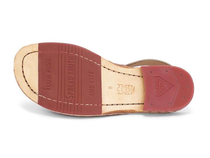 Tigris Floral Flat slingback sandal