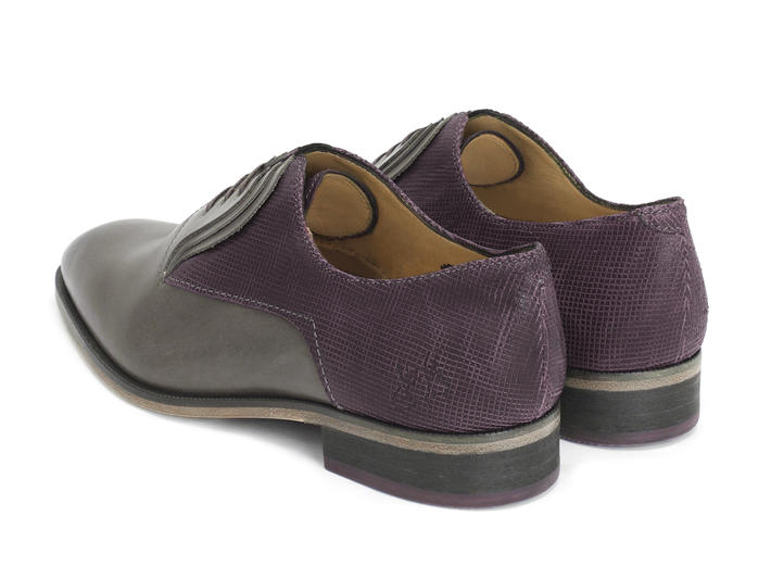 Istanbul Purple Fluttered oxfords