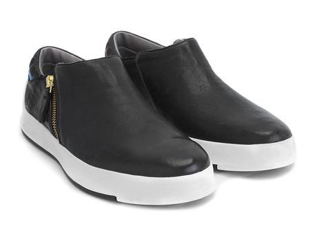 Type 1 Noir Chaussure sport décontractée à fermeture éclair