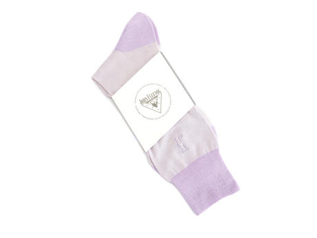 Rex Vog Socks Purple Pastel sock