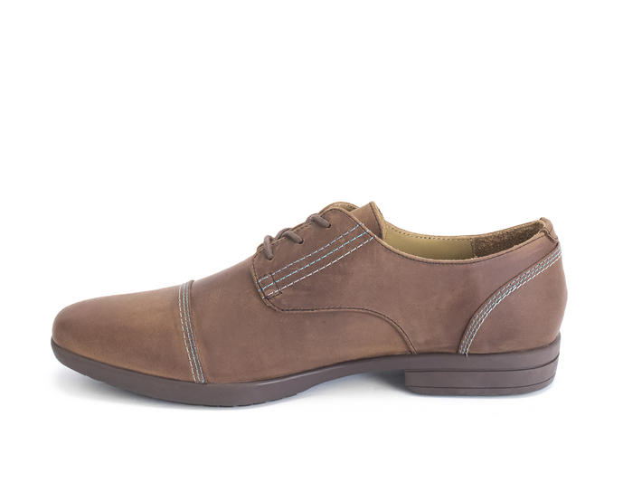 Breton Brown Leather derby shoe