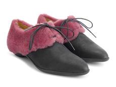 Black/Pink Fur