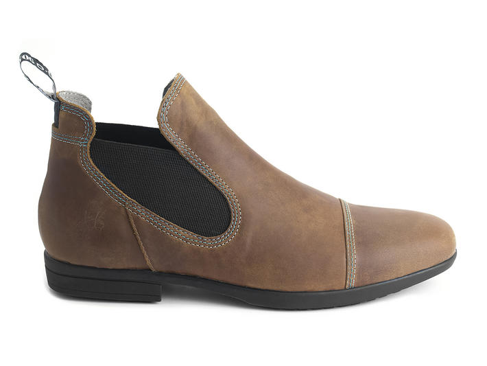 Joshua Brown Low chelsea boot