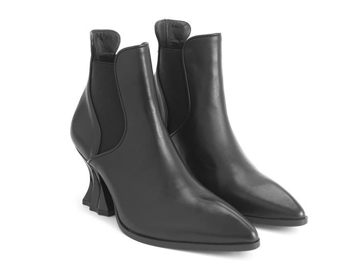 Ara Black Vintage-inspired chelsea boot