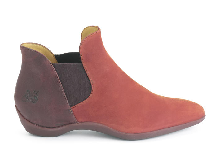 Influence Red Modern chelsea boot
