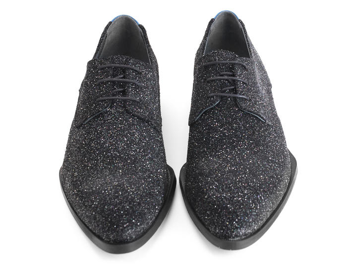 Ace Face Glitter Simple derby lace-up