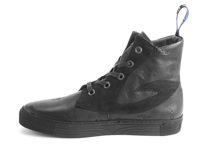 Chitter Chatter Black High top sneaker