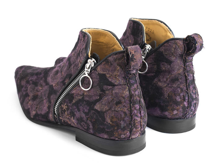 Smith Floral Double zip ankle boot