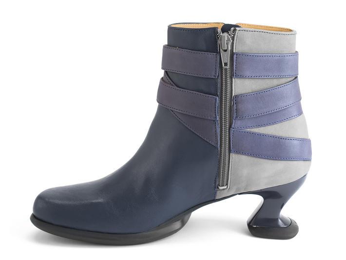 Asante Bleu/Violet Bottillon avec courroie détaillée