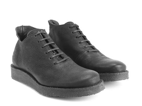 Coquihalla Black Crepe sole lace-up shoe