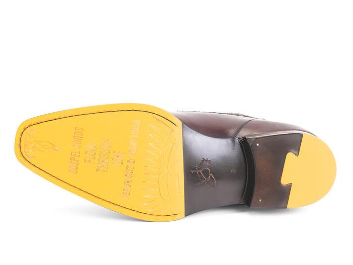 Jonathan Barolo Contrast ankle boot